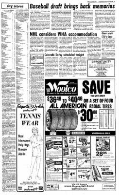 Greeley Daily Tribune from Greeley, Colorado on June 8, 1977 · Page 43