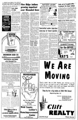 Greeley Daily Tribune from Greeley, Colorado on April 26, 1973 · Page 14