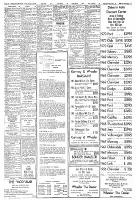Greeley Daily Tribune from Greeley, Colorado on June 1, 1970 · Page 30