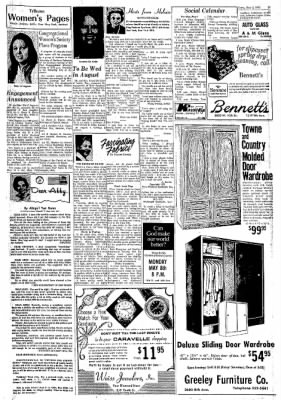 Greeley Daily Tribune from Greeley, Colorado on May 2, 1972 · Page 17