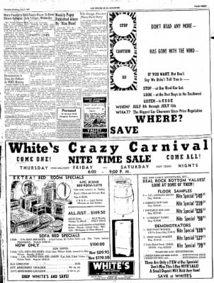 Las Cruces Sun-News from Las Cruces, New Mexico on July 5, 1951 · Page 3