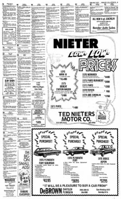Greeley Daily Tribune from Greeley, Colorado on June 8, 1977 · Page 49