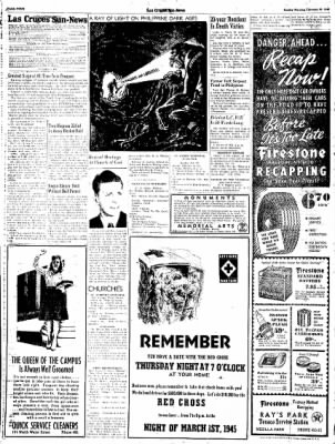Las Cruces Sun-News from Las Cruces, New Mexico on February 25, 1945 · Page 4