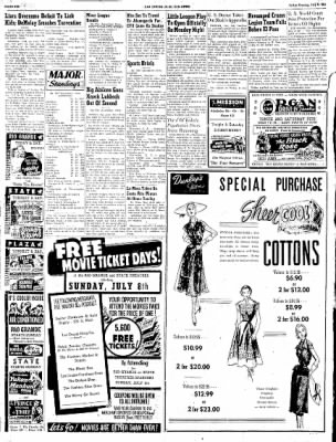 Las Cruces Sun-News from Las Cruces, New Mexico on July 6, 1951 · Page 6