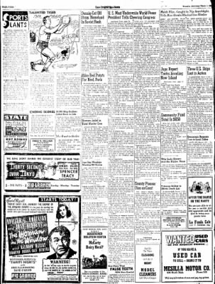 Las Cruces Sun-News from Las Cruces, New Mexico on March 1, 1945 · Page 4