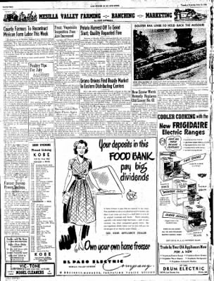 Las Cruces Sun-News from Las Cruces, New Mexico on July 10, 1951 · Page 2