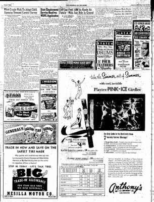 Las Cruces Sun-News from Las Cruces, New Mexico on July 15, 1951 · Page 2