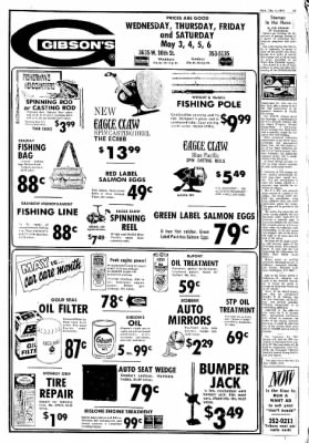 Greeley Daily Tribune from Greeley, Colorado on May 3, 1972 · Page 46