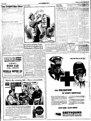 Las Cruces Sun-News from Las Cruces, New Mexico on March 14, 1945 · Page 4