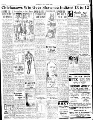 The Courier News from Blytheville, Arkansas on October 21, 1933 · Page 6
