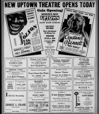 Uptown theatre opening
