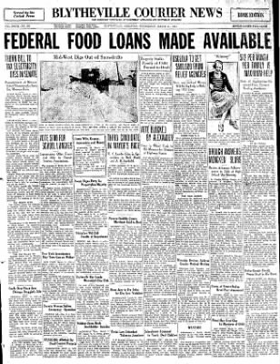 The Courier News from Blytheville, Arkansas on March 11, 1931 · Page 1