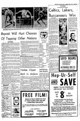 The Courier News from Blytheville, Arkansas on April 6, 1968 · Page 9