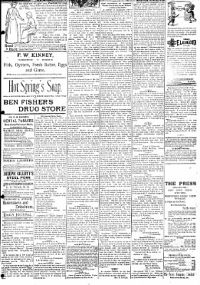 Logansport Pharos-Tribune from Logansport, Indiana on January 22, 1895 · Page 3