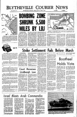 The Courier News from Blytheville, Arkansas on April 8, 1968 · Page 1