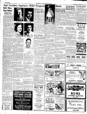 The Courier News from Blytheville, Arkansas on November 5, 1949 · Page 8