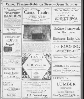 Cameo theatre opening