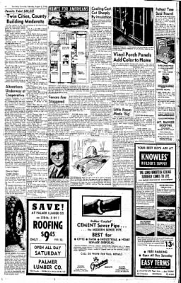 The Daily Chronicle from Centralia, Washington on August 2, 1958 · Page 4