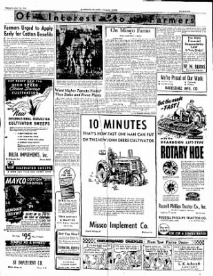 The Courier News from Blytheville, Arkansas on May 26, 1950 · Page 9