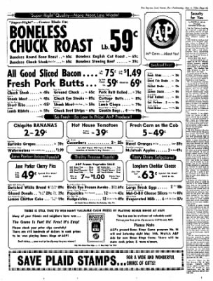 The Express From Lock Haven Pennsylvania On May 4 1966 Page 25 Best dining in lock haven, pennsylvania: newspapers com