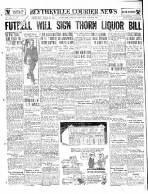 The Courier News from Blytheville, Arkansas on March 13, 1935 · Page 1