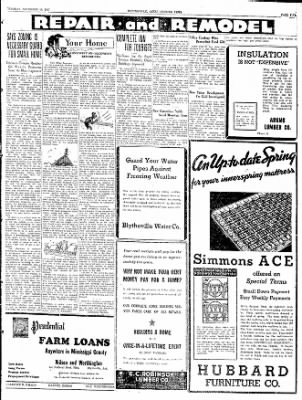 The Courier News from Blytheville, Arkansas on November 16, 1937 · Page 5