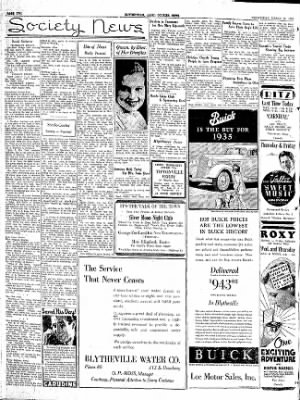 The Courier News from Blytheville, Arkansas on March 13, 1935 · Page 2