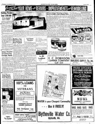 The Courier News from Blytheville, Arkansas on November 8, 1949 · Page 9