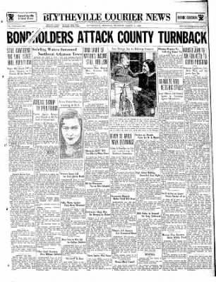 The Courier News from Blytheville, Arkansas on March 14, 1935 · Page 1