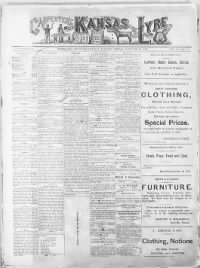 Sample Carpenter's Kansas Lyre front page