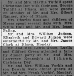 William Judson Family Dec 1921