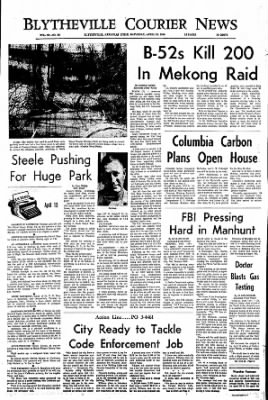 The Courier News from Blytheville, Arkansas on April 13, 1968 · Page 1
