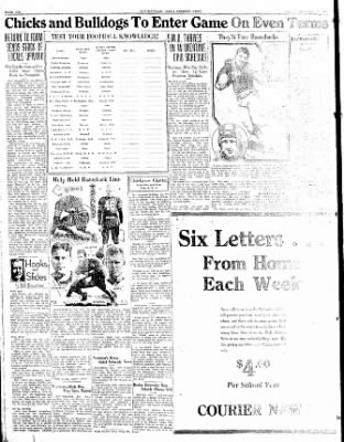 The Courier News from Blytheville, Arkansas on October 27, 1933 · Page 6