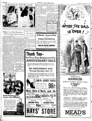The Courier News from Blytheville, Arkansas on November 18, 1937 · Page 6