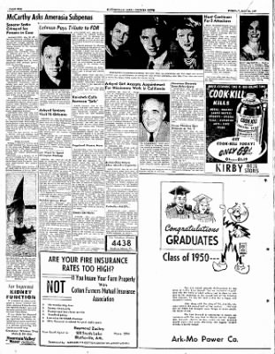 The Courier News from Blytheville, Arkansas on May 30, 1950 · Page 10