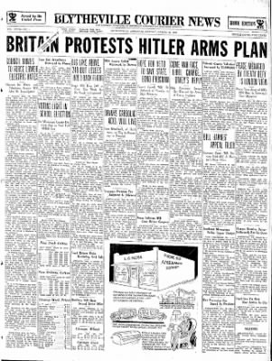 The Courier News from Blytheville, Arkansas on March 18, 1935 · Page 1