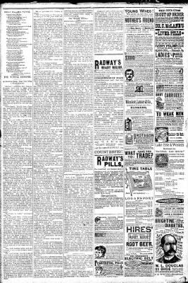 Logansport Pharos-Tribune from Logansport, Indiana on February 3, 1891 · Page 7