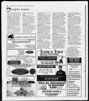 Daily Record from Morristown, New Jersey on April 13, 2003 · 129