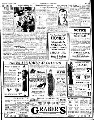 The Courier News from Blytheville, Arkansas on November 2, 1933 · Page 9
