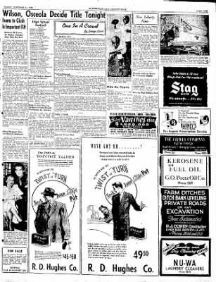 The Courier News from Blytheville, Arkansas on November 11, 1949 · Page 9
