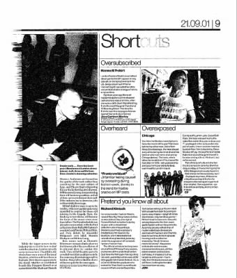 The Guardian from London, Greater London, England on September 21, 2001 · 42