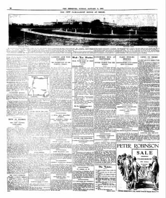 The Observer from London, Greater London, England on January 9, 1927