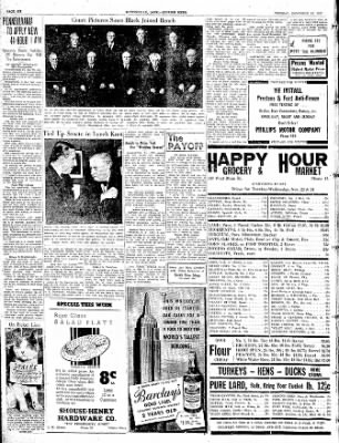 The Courier News from Blytheville, Arkansas on November 23, 1937 · Page 6