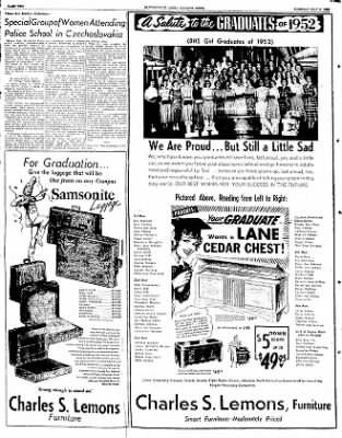 The Courier News from Blytheville, Arkansas on May 6, 1952 · Page 2