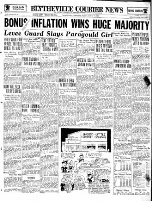 The Courier News from Blytheville, Arkansas on March 22, 1935 · Page 1