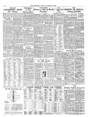 The Observer From London On October 18 1953 14