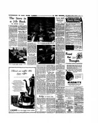 The Observer From London Greater London England On January 10 1960 13