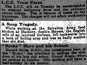 A Soup Tragedy