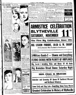 The Courier News from Blytheville, Arkansas on November 6, 1933 · Page 3