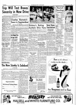 The Courier News from Blytheville, Arkansas on July 29, 1954 · Page 6